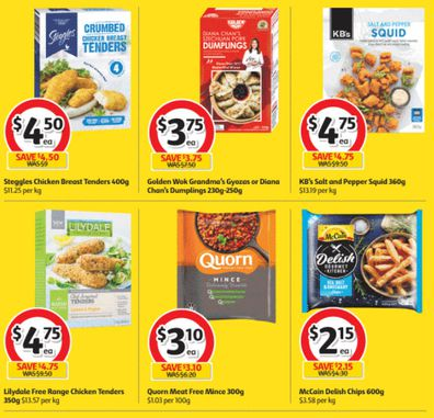 Coles has some amazing frozen food specials this week.