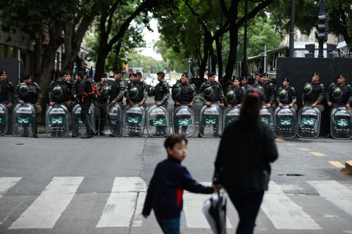 Security is tight in Buenos Aires where the global leaders meeting is being held.