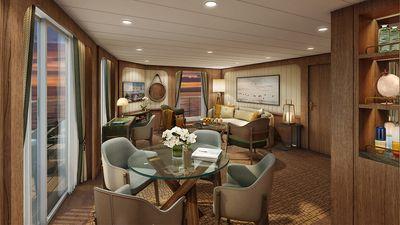 Seabourn Venture: Signature Suite (Living Room)