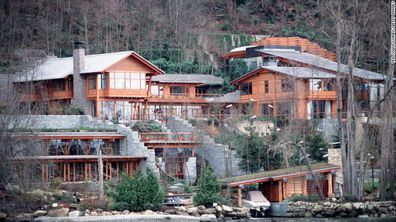 Bill Gates's house in the Medina Area of Seattle in the US.