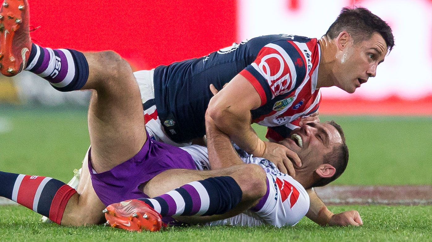 Cronk gets tangled up with Smith