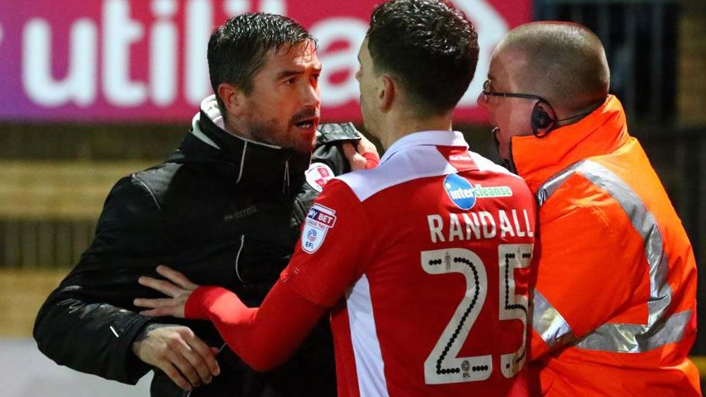 Former Socceroo Harry Kewell claims Crawley Town fan confrontation 'exaggerated'