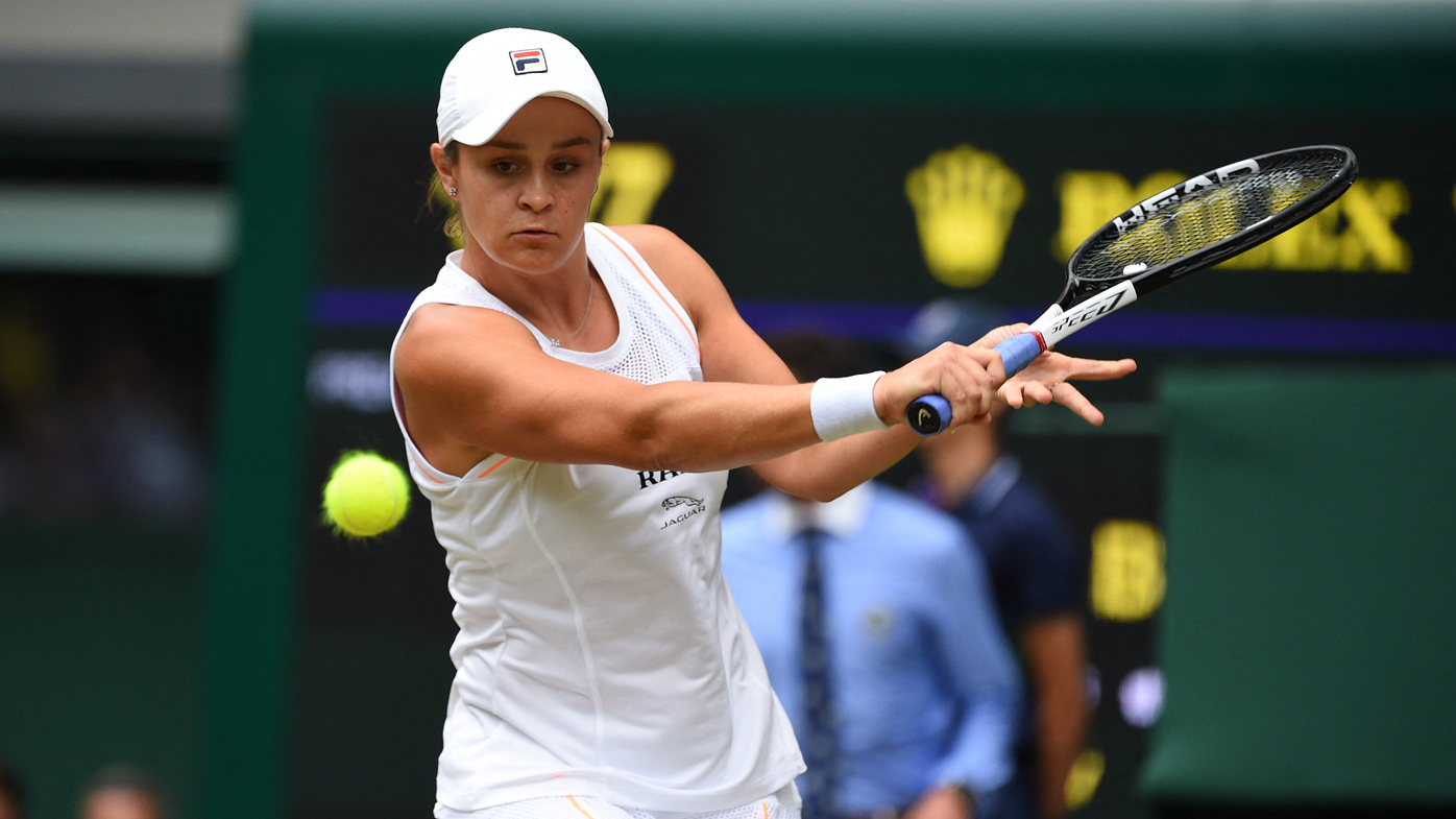 USA's Alison Riske stuns No. 1 Ashleigh Barty at Wimbledon