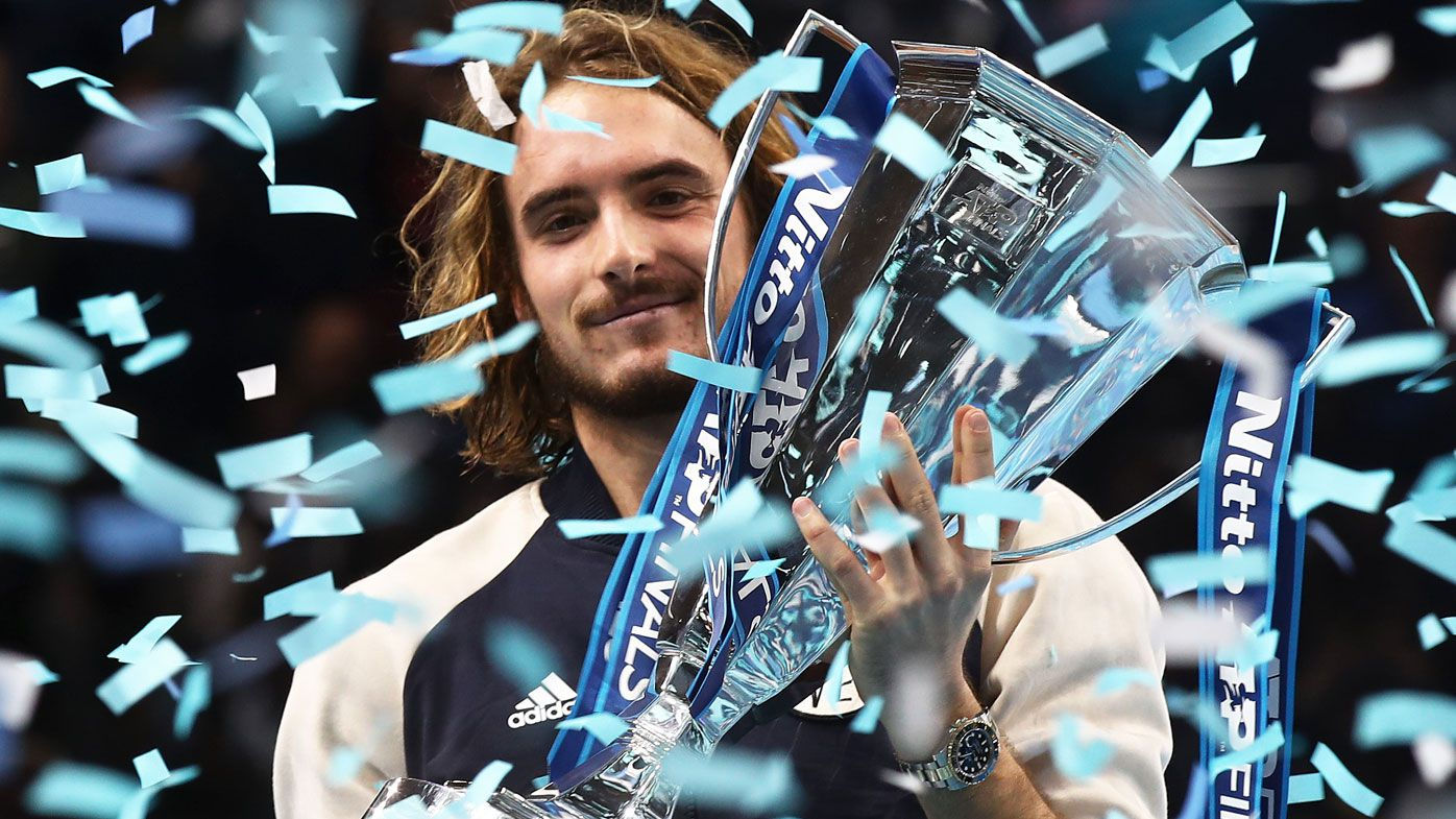 Stefanos Tsitsipas wins ATP Finals on debut, youngest champion since Lleyton Hewitt