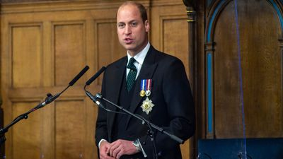 Prince William in Edinburgh, May 22