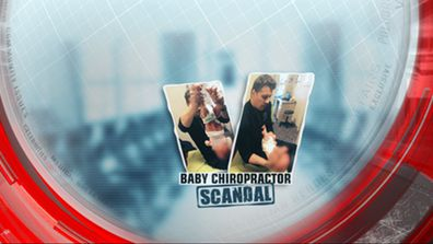 Baby chiropractor scandal