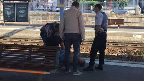 Alleged France train gunman to be treated as 'terrorist'