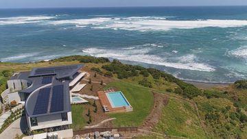 Flinders mansion ocean view.