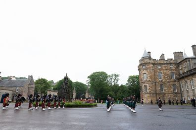 The Palace Of Holyrood house in Edinburgh, Scotland