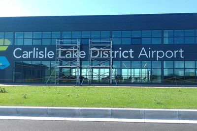 Carlisle Lake District Airport -- England