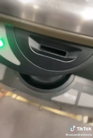 Woolies coin slot self-service coins