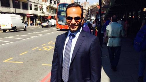The profile photo from George Papadopoulos' LinkedIn page. (LinkedIn)