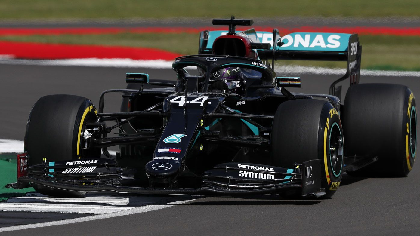 F1 British Grand Prix qualifying results: Hamilton takes pole, Ricciardo eighth