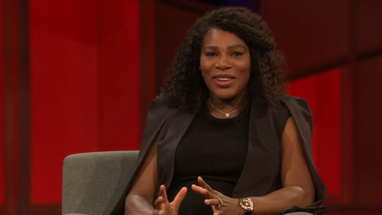 Serena on love and tennis