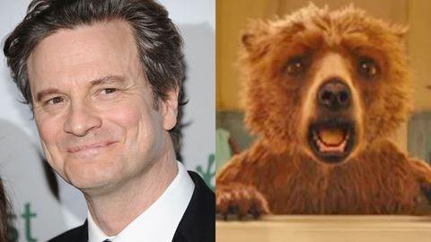 Colin Firth Paddington Bear