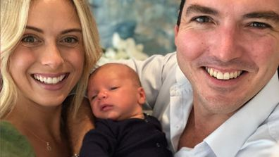 The couple welcomed little Oscar into the world on February 6, 2020.