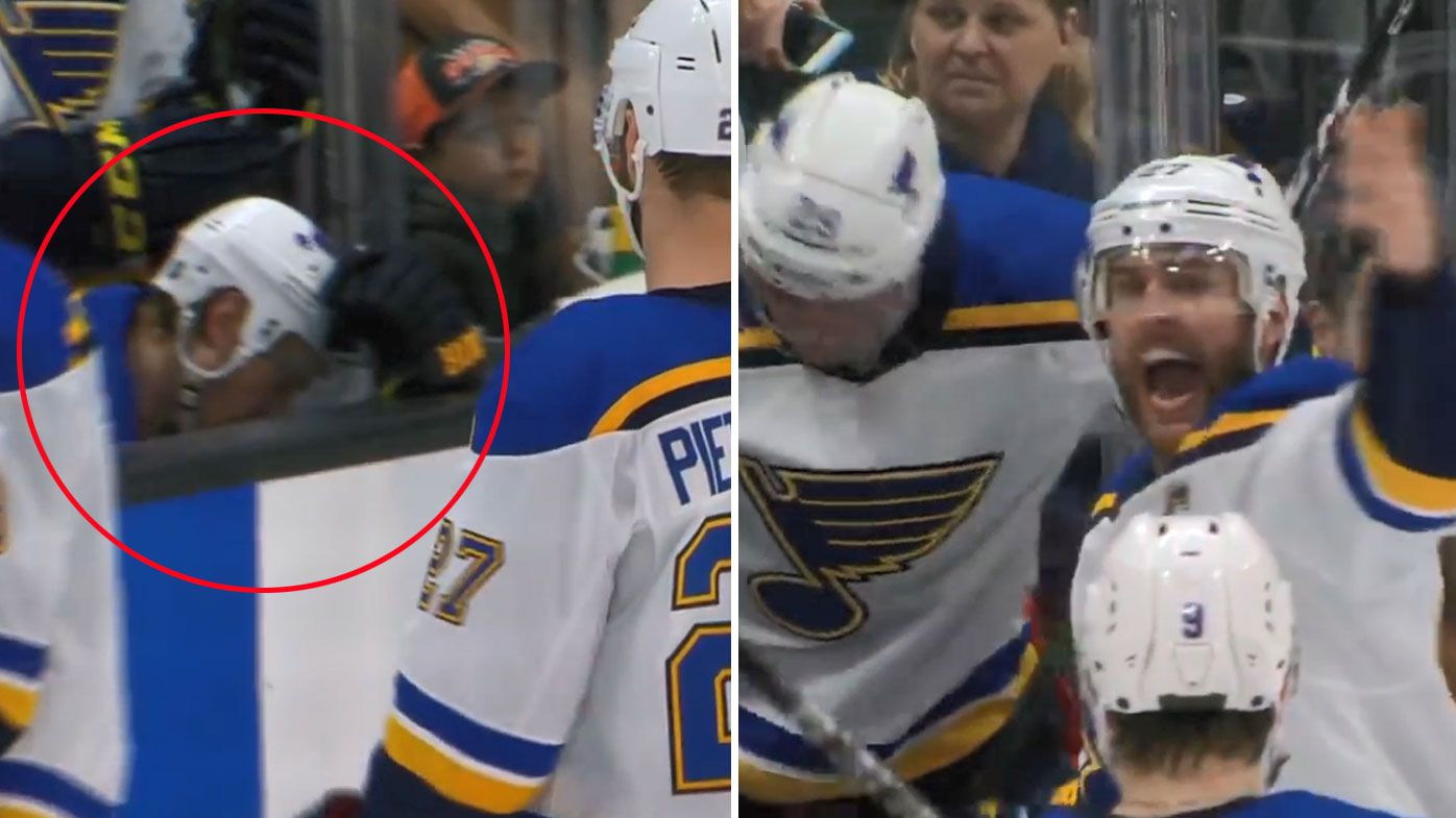 St Louis Blues star Jay Bouwmeester suffers cardiac arrest and collapses during NHL game