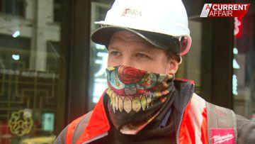 'I might not be able to eat': Victorian tradesman fearful as new rules brought in