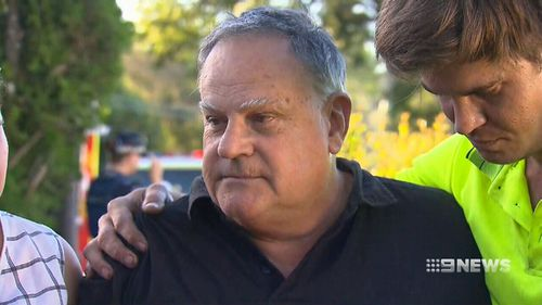 Homeowner John Sinclair. (9NEWS)