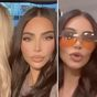 Kim Kardashian and Paris Hilton reunite in a 2000s throwback video