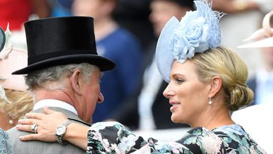 Charles and Zara at Ascot