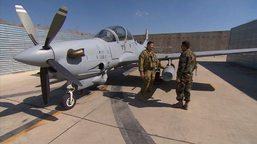 Their jobs fall under NATO's Resolute Support Mission. (9NEWS)
