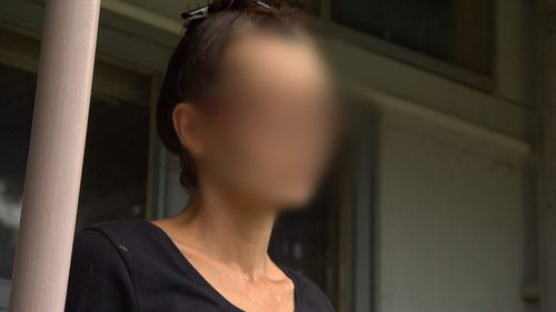 An unnamed woman may be living in Australia's most toxic house.
