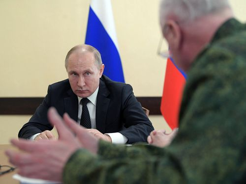 Russian President Vladimir Putin will now decide whether diplomats in Moscow will be kicked out of their country. (AAP)