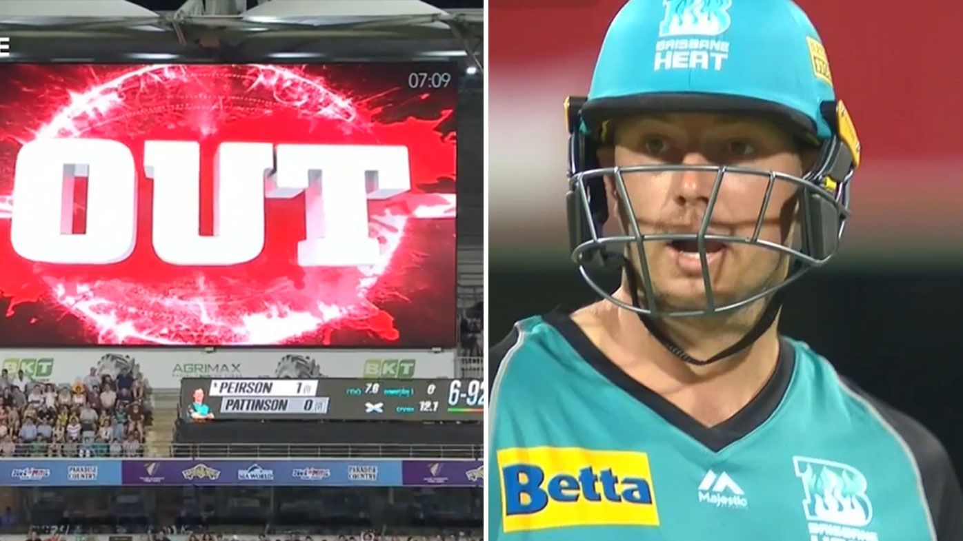 James Pattinson returns after third-umpire blunder forces appeal withdrawal