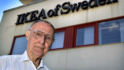 Ingvar Kamprad was famously cheap, urging his staff to make sure they had written on both sides of a piece of paper.
