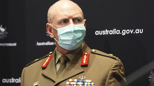 Lieutenant General John Frewan declared today anyone who wants a COVID-19 vaccine before Christmas will get one.