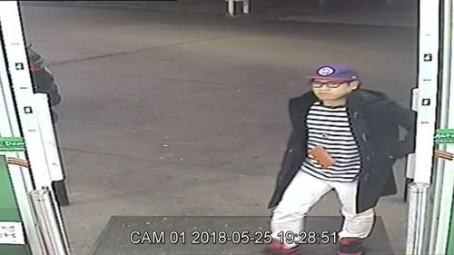 Police have since released CCTV footage of the last time the 33-year-old was seen at a South Hurstville petrol station on May 26.
