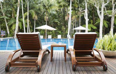 The Bryon at Bryon pool chairs