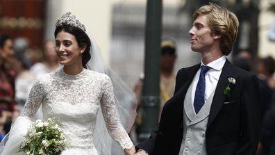 prince christian alessandra de osma wedding
