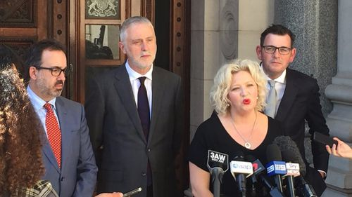 MPs and Premier Daniel Andrews have hailed the bill's passing as a historic moment.