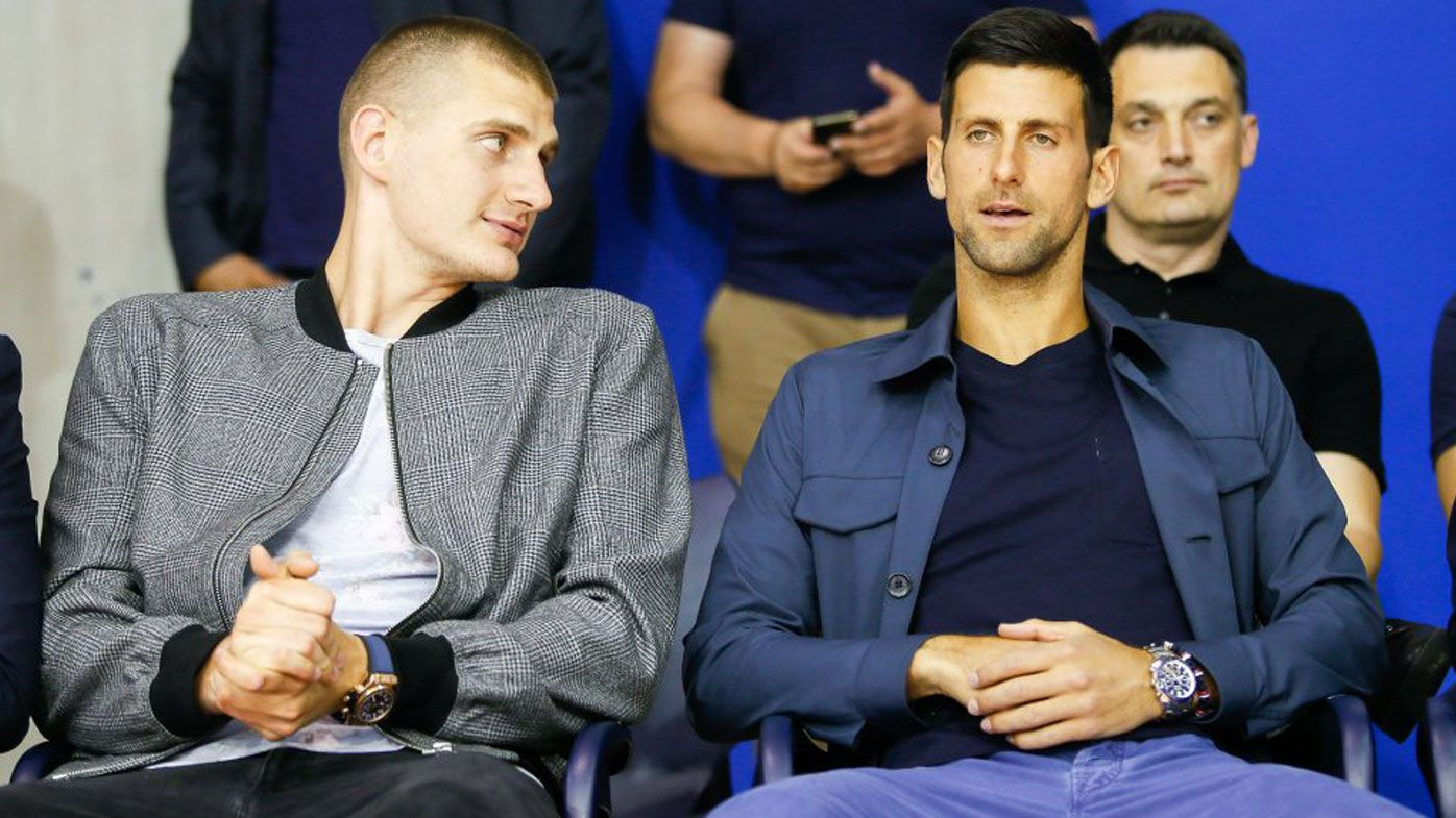 Nikola Jokic and Novak Djokovic were at the same event in Serbia last week. Both have since tested positive for coronavirus.
