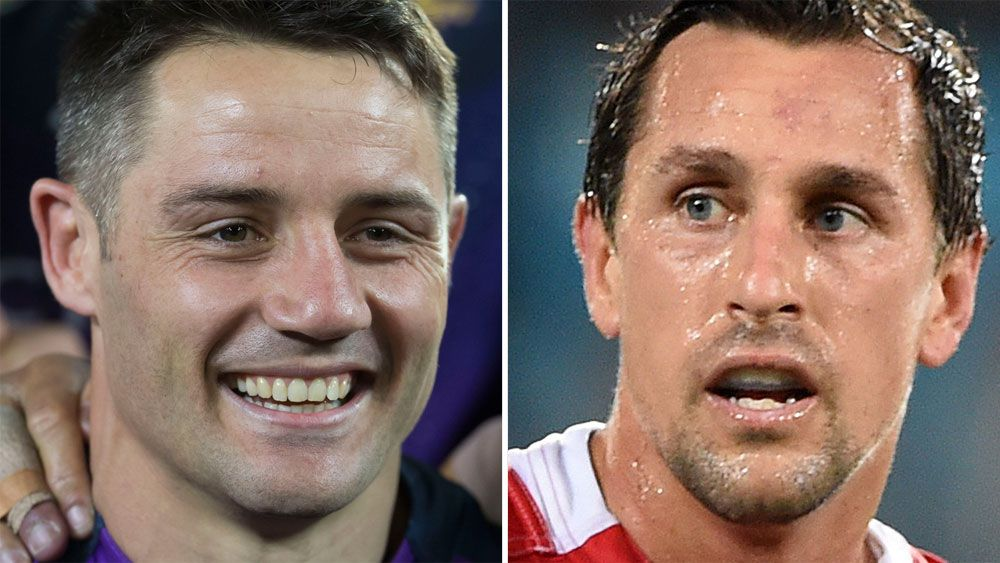 Mitchell Pearce and Cooper Cronk cannot work at the Sydney Roosters, says Paul Gallen