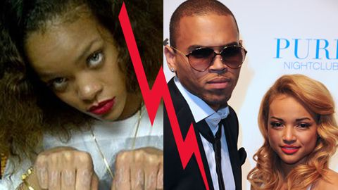 Report Rihanna Nearly Had A Punch Up With Chris Browns Girlfriend