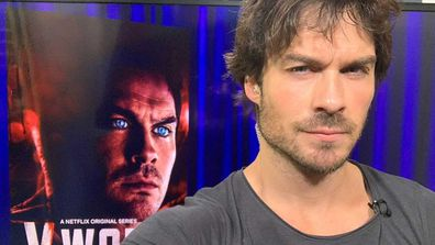 Ian Somerhalder plays Dr. Luther Swann in V Wars.