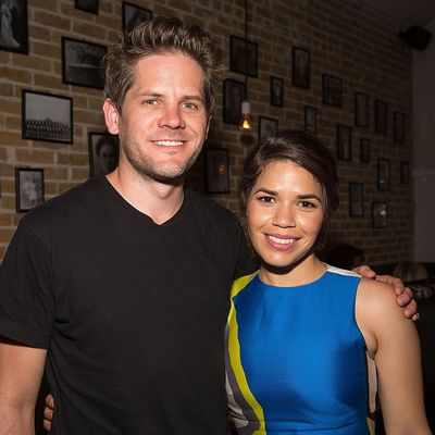 America Ferrera and Ryan Piers are first-time parents