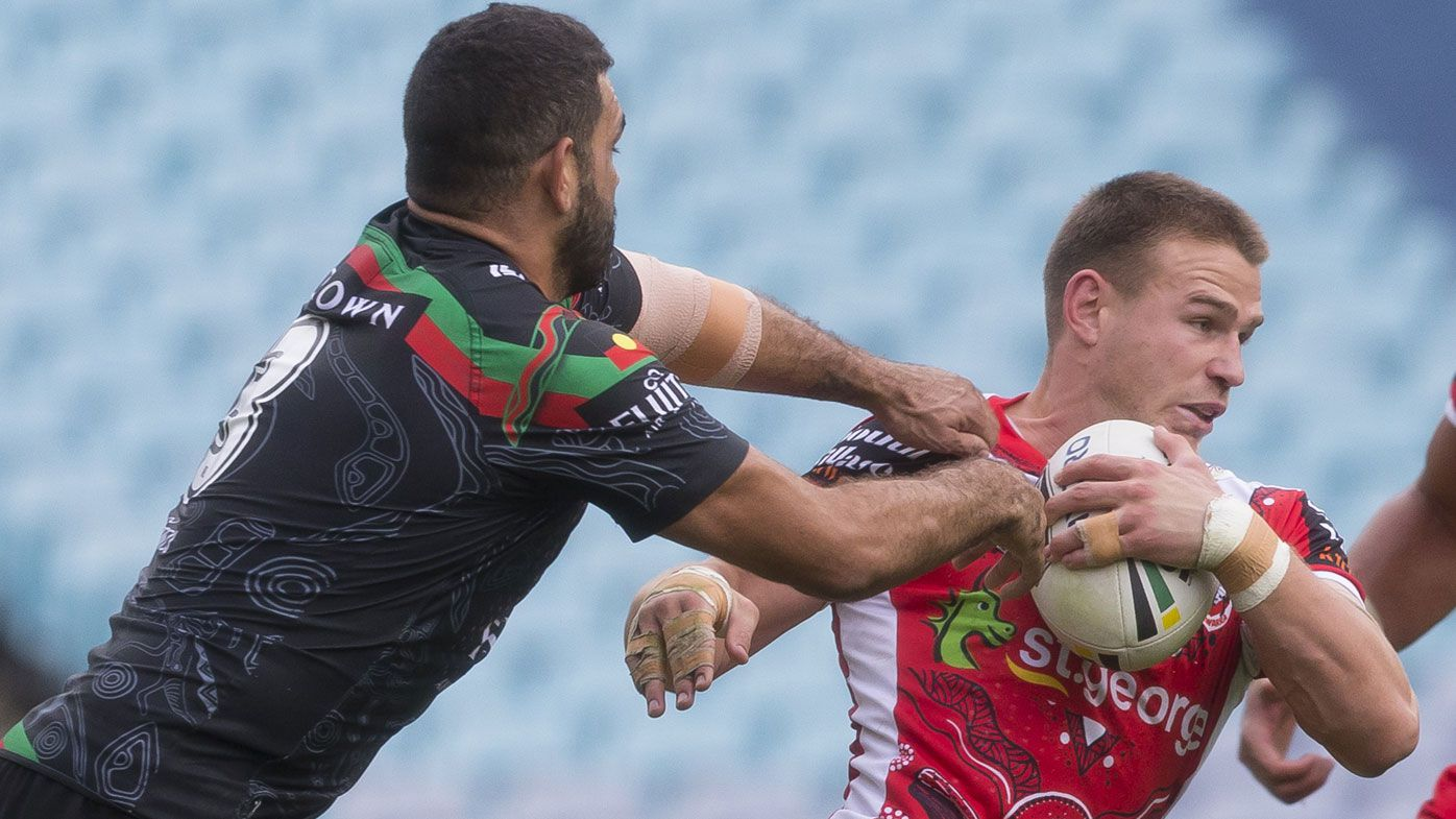 South Sydney Rabbitohs bring St George Illawarra Dragons down to earth in NRL