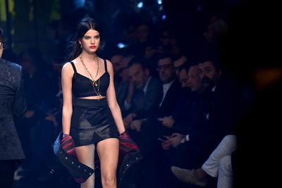 <p>Sonia Ben Ammar. French model and one-time girlfriend of Brooklyn Beckham - son of David and Victoria Beckham.</p> <p>Image: Getty.</p>