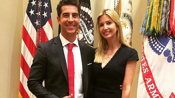 Jesse Watters and Ivanka Trump