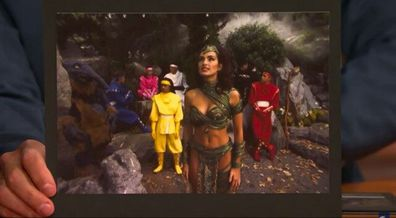 Mariska Hargitay, Power Rangers, movie, character, costume, Queen Dulcea