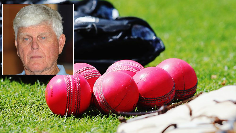 Barry Richards (inset) and pink balls. (Getty)