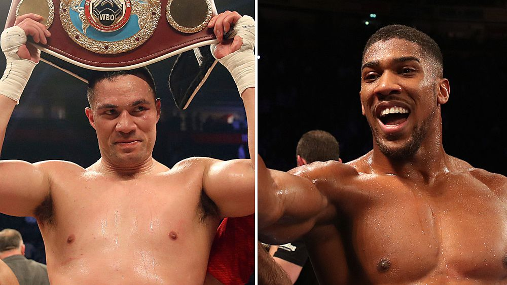 Boxing: Anthony Joshua to fight Joseph Parker in world heavyweight title unification bout on March 31