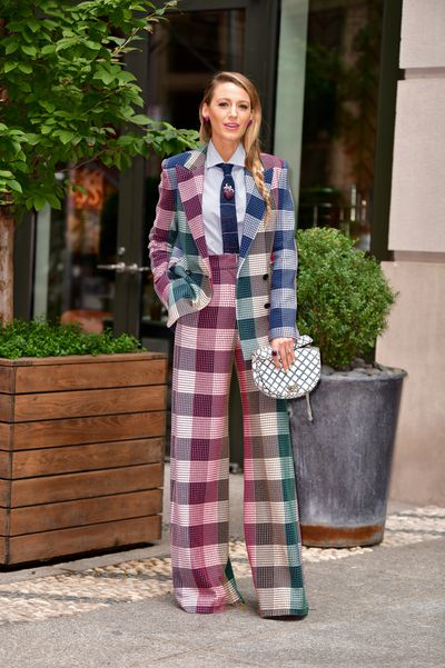 "<p>It&rsquo;s no secret Blake Lively is loving herself in a <a href=""https://style.nine.com.au/2018/08/21/08/21/neon-blake-lively-kim-kardashian"" target=""_blank"" title=""pantsuit"" draggable=""false"">pantsuit</a> at the moment.</p> <p>In the last&nbsp;week alone,<a href=""https://style.nine.com.au/2018/05/15/15/33/blake-lively-style"" target=""_blank"" title="" theactress"" draggable=""false""> the actress</a>&nbsp;has stepped out in seven pantsuits, not letting a little thing like 30+ degree heat in New York stop her from rocking the tailored aesthetic.</p> <p>From a blue velvet Brunello Cucinelli&nbsp;suit, to the not-to-be-missed bold&nbsp;<a href=""https://style.nine.com.au/2018/08/21/08/21/neon-blake-lively-kim-kardashian"" target=""_blank"" draggable=""false"">n</a><a href=""https://style.nine.com.au/2018/08/21/08/21/neon-blake-lively-kim-kardashian"" target=""_blank"" draggable=""false"">eon green Versace two-piece</a>, the former&nbsp;<em>Gossip Girl&nbsp;</em>star has had all versions covered. </p> <p>However, there is someone who isn&rsquo;t a fan of <em>The Age of Adeline</em> star's new suited-up obsession and he wasn't afraid to tell her. </p> <p>Perhaps he should have been.&nbsp;</p> <p>Lively posted an image of herself on Instagram in an all-plaid Roland Mouret suit along with the caption; ""Picnic anyone? I'll bring the tablecloth...""</p> <p>To which one fan replied: ""I say this with so much love &amp; respect for you babe, please hire a stylist or fire the one you&rsquo;re currently with.""</p> <p>What @gabeluna may not know is that the 31 year-old is one of the few Hollywood A-lister&rsquo;s that actually doesn&rsquo;t have a stylist. She is responsible for all her own looks.</p> <p>""Thank you for the tips, sir,"" Lively responded to the criticism. ""Alas, I've tried to fire @blakelively so many times. But the b*tch just keeps coming back. She won't leave me alone.""</p> <p>You go girl. We think Lively does a damn good job as her own stylist. </p> <p>Click through to see all the times Blake Lively has rocked the pantsuit trend lately.</p>"
