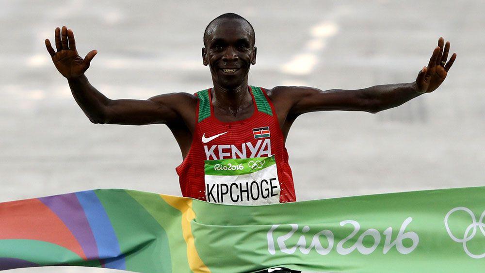 Eliud Kipchoge. (AFP)