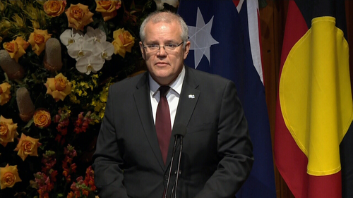 Scott Morrison pays tribute to Hawke