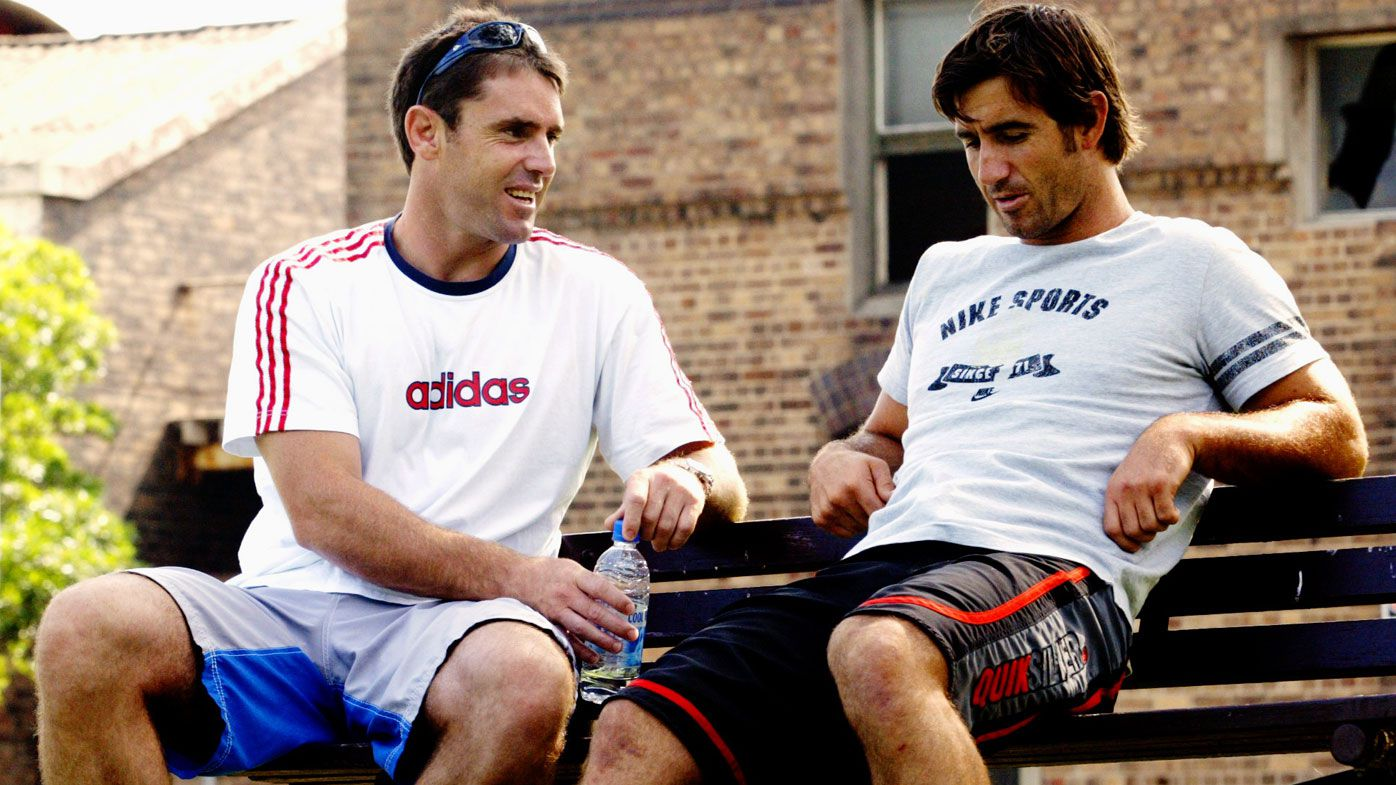 EXCLUSIVE: Andrew Johns and Brad Fittler wouldn't speak to each other during season